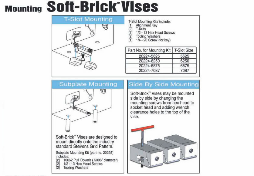 Soft Brick Mounting Hardware
